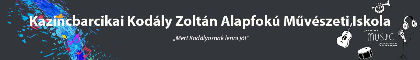 Kazincbarcikai Kodály Zoltán Alapfokú Művészeti Iskola